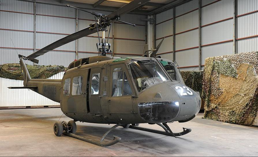 UH-1H Huey still going strong to this day. This one specifically served back in Vietnam