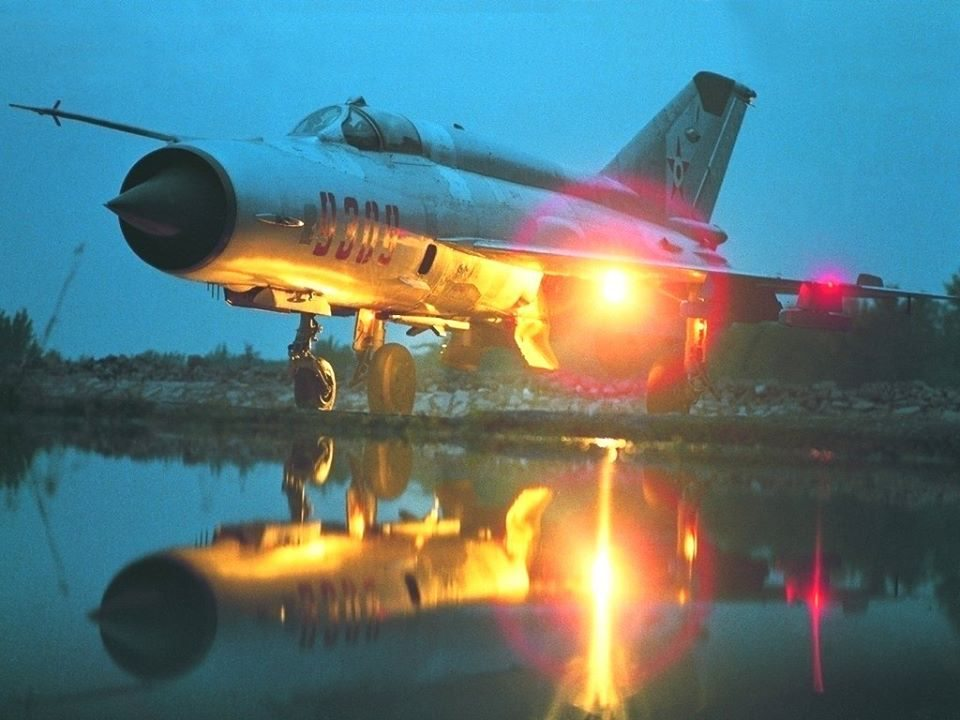 Hungarian MIG-21 fighter