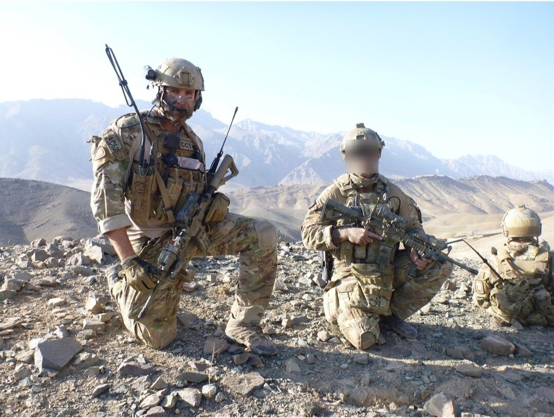 A Royal Australian Air Force, Combat Controller embedded with soldiers from an Australian Army special operations unit, Afghanis