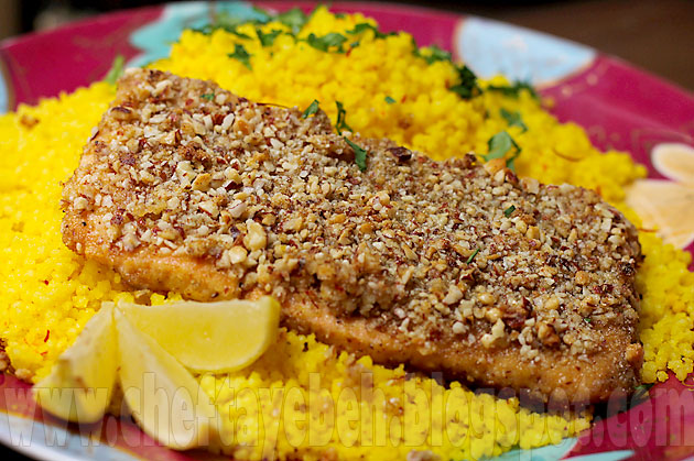 Almond-Crusted Salmon (9)