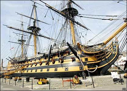 Tezgahtaki maket Revell HMS Victory 1/225